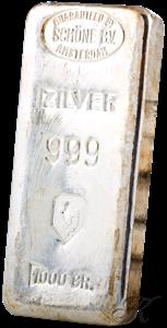Picture of Zilverbaar van 1 kilogram (LBMA)