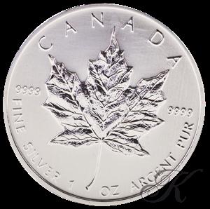 Picture of Zilveren Maple Leaf (DIRECT LEVERBAAR)