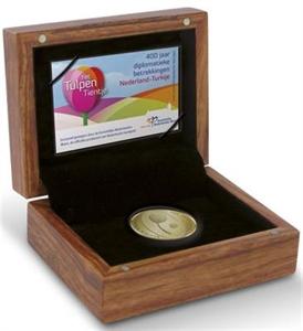 Picture of Gouden 10 Euro 2012 Tulpen (400 Jaar Turkije)