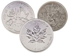 Picture for category Zilveren munten