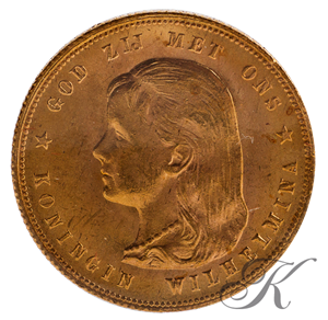 Picture of Gouden Tientje 1897 (parels los van de rand)