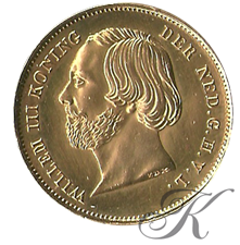 Picture for category Gouden 20 Gulden Willem III