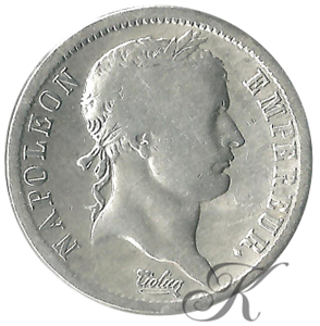 Picture of 2 Francs 1813/12 Napoleon I