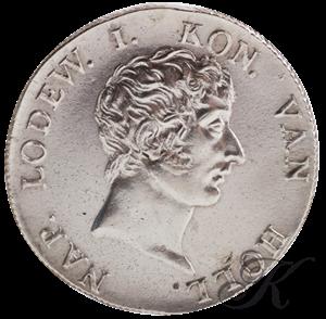 Picture of 50 Stuivers 1808 Lodewijk Napoleon grote bij