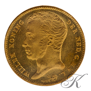 Picture of Gouden Tientje 1828/27 Brussel