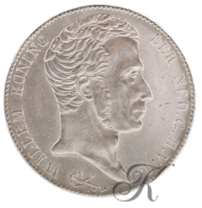 Picture of 3 Gulden 1824 Utrecht met streep