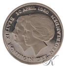 Picture of 1 Gulden 1980 Dubbele Kop
