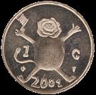 Picture of 1 Gulden 2001 Loeki (nikkel)