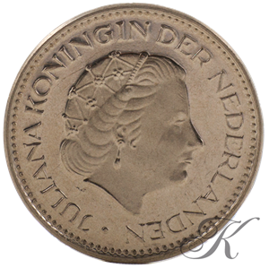 Picture of 1 Gulden 1969 vis