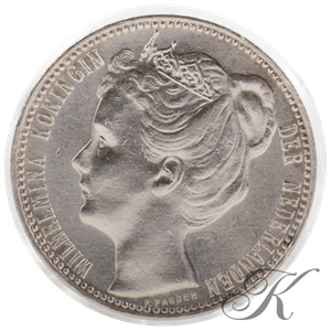 Picture of Zilveren Gulden 1909