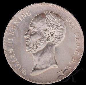 Picture of Zilveren Rijksdaalder 1846 Lelie