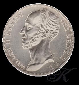 Picture of Zilveren Gulden 1845 zonder streep