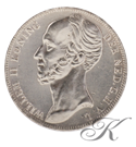 Picture of Zilveren Rijksdaalder 1849 Willem ll