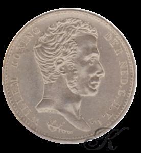 Picture of Zilveren Gulden 1824 Utrecht (met streep)