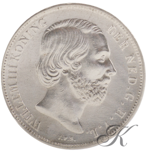 Picture of Zilveren Gulden 1853/51