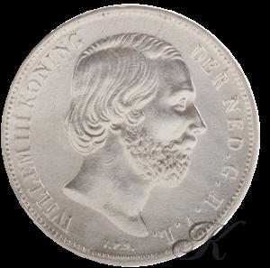 Picture of Zilveren Gulden 1858