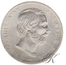 Picture of Zilveren Gulden 1864