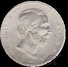 Picture of Zilveren Gulden 1866