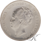 Picture of Zilveren Gulden 1945  PE (RR)