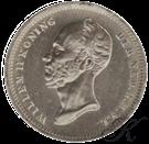 Picture of 25 cent 1848 met punt