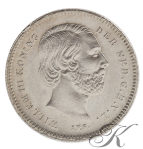 Picture of 25 cent 1849 (Willem III)