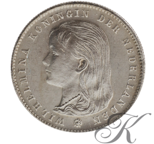 Picture of 25 cent 1895 schuin mmt