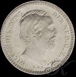 Picture of 10 cent 1874 klaverbladvormig zwaard