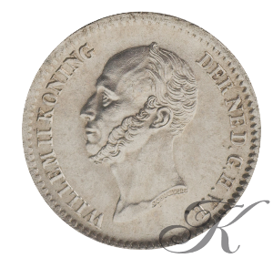 Picture of 10 cent 1849 met punt