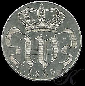 Picture of 10 cent 1843 Gotische W proefontwerp (RR)