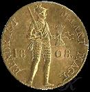 Picture of Gouden Dukaat 1808 (ridder) Lodewijk Napoleon