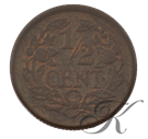 Picture of ½ cent 1934