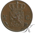 Picture of ½ cent 1822 Brussel
