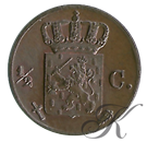 Picture of ½ cent 1851