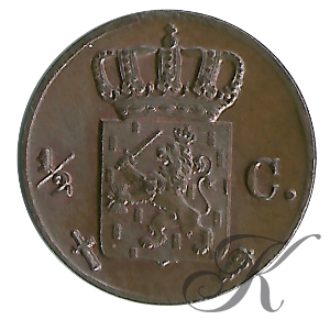 Picture of ½ cent 1853