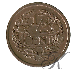 Picture of ½ cent 1917