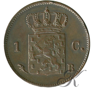Picture of 1 cent 1823 Brussel
