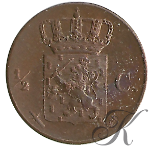 Picture of ½ cent 1846
