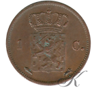 Picture of 1 cent 1824 Utrecht