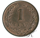Picture of 1 cent 1877 nieuwe type