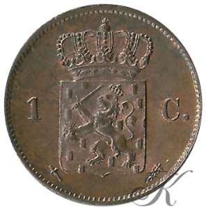 Picture of 1 cent 1861