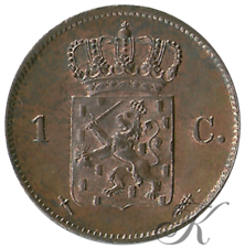 Picture for category 1 Cent Willem III