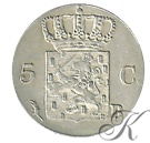 Picture of 5 cent 1825 Brussel