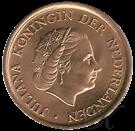 Picture of 1 cent 1966 kleine zes