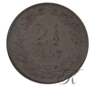 Picture of 2½ cent 1884