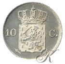 Picture of 10 cent 1822 Utrecht