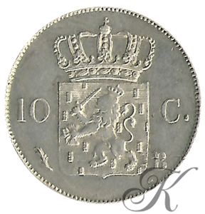 Picture of 10 cent 1827 Brussel