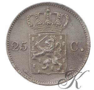 Picture of 25 cent 1825 Utrecht