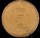 Picture of 5 Gulden 2000 EK klein muntmeesterteken