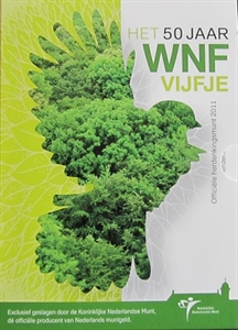Picture of 5 euro zilver proof 2011 Wereldnatuurfonds WNF
