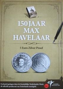 Picture of 5 euro zilver proof 2010 Max Havelaar